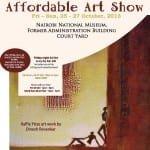 Affordable Art Poster Final 8 Oct